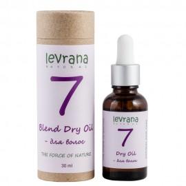 """Сухое масло """"7"""" для волос Levrana, 30 мл, , 15.90 руб., Сухое масло """"7"""" для волос Levrana, 30 мл, Levrana, Масляные смеси"""