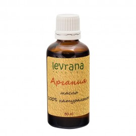 Арганы масло натуральное Levrana, 50 мл, , 26.90 руб., Арганы масло натуральное Levrana, 50 мл, Levrana Organic, Натуральные масла