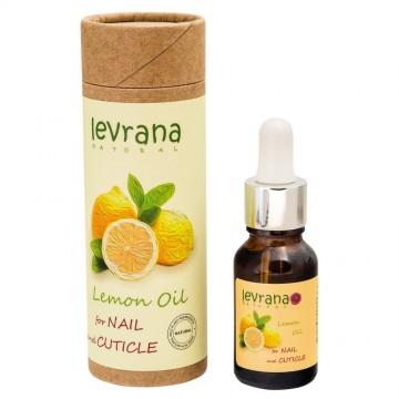 "Масло для кутикулы ""Лимон"" Levrana, 15 мл"