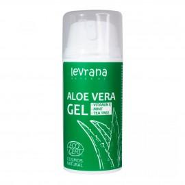 """Гель для тела """"Алоэ Вера"""" Levrana, 100 мл, Супер увлажнение, снятие воспаления и тонизирование кожи"""
