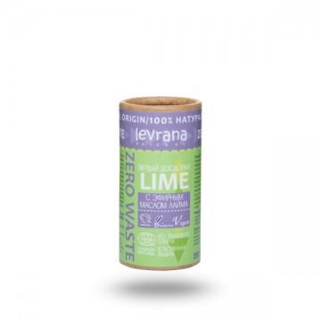 Твердый дезодорант «Лайм» Levrana, 75г