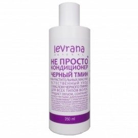 Не просто кондиционер для волос Черный тмин Levrana, 250 мл, , 14.70 руб., Не просто кондиционер для волос Черный тмин Levrana, 250 мл, Levrana, Шампуни и бальзамы для волос