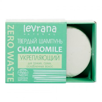 "Твердый шампунь ""Сhamomile"", укрепляющий Levrana, 50 г"