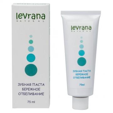 Зубная паста «Бережное отбеливание» Levrana, 75 мл