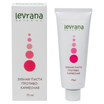 Зубная Паста «Противокариесная» Levrana, 75 мл