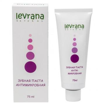Зубная паста «Антимикробная» с лавандой и магнолией Levrana, 75 мл