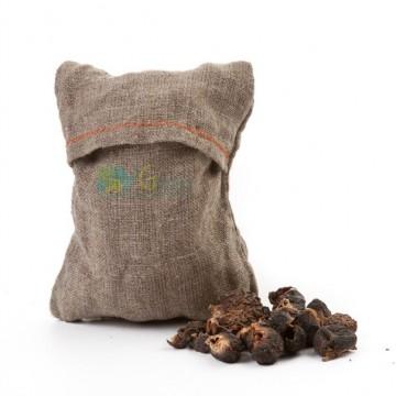 Мочалка с мыльными орехами Trifoliatus для мытья тела и волос