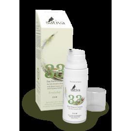 Крем для лица дневной для жирного чувствительного типа кожи №33, 50 мл, , 35.40 руб., Крем для лица дневной для жирного чувствительного типа кожи №33, SATIVA - Функциональная дерматологическая косметика, Кремы  для лица и декольте