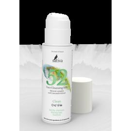 Молочко для лица очищающее №52, 150 мл, , 20.30 руб., Молочко для лица очищающее №52, 150 мл, SATIVA - Функциональная дерматологическая косметика, Снятие макияжа