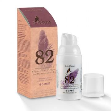 Успокаивающая сыворотка №82 для регенерации чувствительной и гиперчувствительной кожи, 30 мл