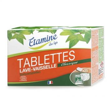 Таблетки для посудомоечных машин Etamine du Lys, 25 шт.