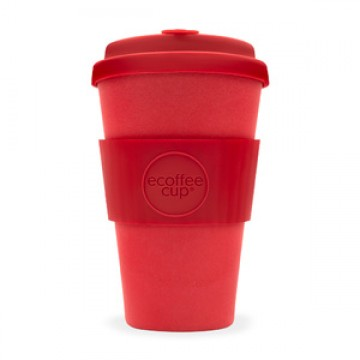 Кофейная эко-чашка:  Красный Рассвет, 400мл, Сoffee Cup