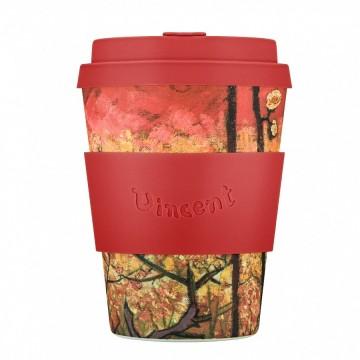 Кофейная эко-чашка: Цветущая слива, 350мл, Ecoffee cup
