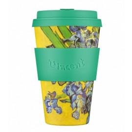 Кофейная эко-чашка: Ирисы, 400мл, Ecoffee cup, , 34.00 руб., Кофейная эко-чашка: Ирисы, 400мл, Ecoffee cup, Ecoffee cup(Великобритания), НОВИНКИ NEW
