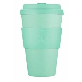 Кофейная эко-чашка: Мята, 400мл, Ecoffee cup НЕЗНАЧИТЕЛЬНЫЙ ДЕФЕКТ резиночки, , 29.00 руб., Кофейная эко-чашка: Мята, 400мл, Ecoffee cup, Ecoffee cup(Великобритания), Zero waste = Ноль Отходов