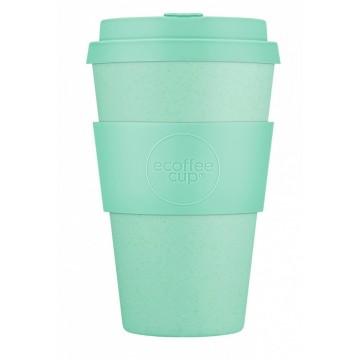 Кофейная эко-чашка: Мята, 400мл, Ecoffee cup НЕЗНАЧИТЕЛЬНЫЙ ДЕФЕКТ резиночки