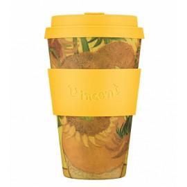 Кофейная эко-чашка: Подсолнухи, 400мл, Ecoffee cup