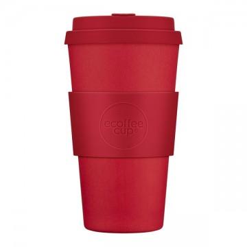 Кофейная эко-чашка: Красный рассвет, 475мл, Ecoffee cup