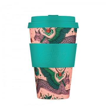 Кофейная эко-чашка: Рысь, 400мл, Сoffee Cup