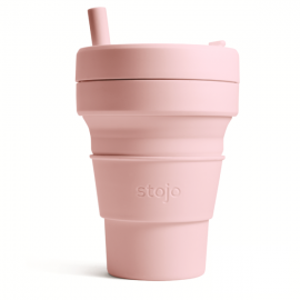 Складной силиконовый стакан Stojo, Гвоздика, 470мл
