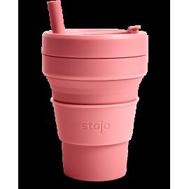 Складной силиконовый стакан Stojo, Ягода, 470 мл