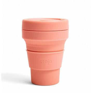 Складной силиконовый стакан Stojo, Абрикос, 355мл