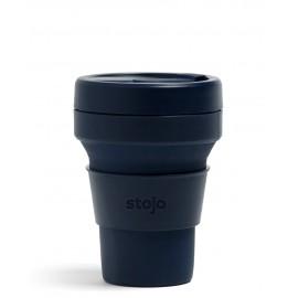 Складной силиконовый стакан Stojo, Джинс, 355мл, , 40.00 руб., Складной силиконовый стакан Stojo, Джинс, 355мл, Stojo - складные силиконовые стаканы, Zero waste = Ноль Отходов