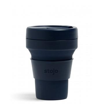 Складной силиконовый стакан Stojo, Джинс, 355мл