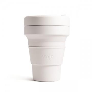 Складной силиконовый стакан Stojo, Кварц, 470мл