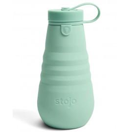 Складная силиконовая бутылка Stojo, Морская пена, 590мл, , 56.00 руб., Складная силиконовая бутылка Stojo, Морская пена, 590мл, Stojo - складные силиконовые стаканы, Zero waste = Ноль Отходов
