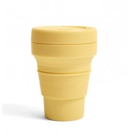Складной силиконовый стакан Stojo, Мимоза, 355мл, , 40.00 руб., Складной силиконовый стакан Stojo, Мимоза, 355мл, Stojo - складные силиконовые стаканы, Zero waste = Ноль Отходов