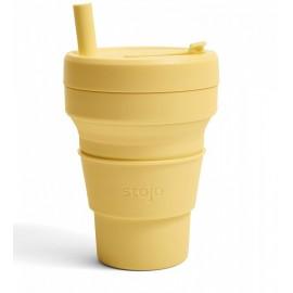 Складной силиконовый стакан Stojo, Мимоза, 470мл