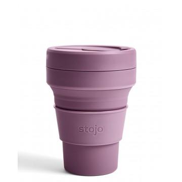 Складной силиконовый стакан Stojo, Слива, 355мл
