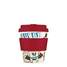 Кофейная эко-чашка: Топливо супергероя, 250мл, Сoffee Cup, , 25.00 руб., Кофейная эко-чашка: Топливо супергероя, 250мл, Сoffee Cup, Ecoffee cup(Великобритания), Zero waste = Ноль Отходов
