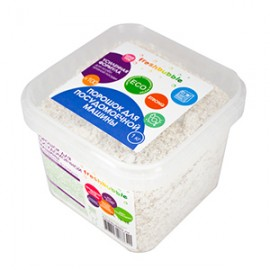 Порошок для посудомоечной машины усиленная формула Freshbubble, 1 кг, , 20.90 руб., Порошок для посудомоечной машины усиленный Freshbubble, Freshbubble - экологические средства для дома, Для мытья посуды