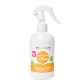 """Экологичный освежитель воздуха на основе масел """"Апельсин и бергамот"""" Freshbubble, 300мл"""