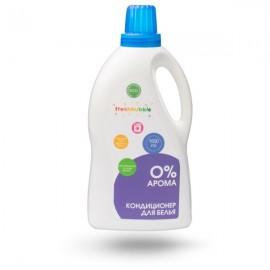 """Экологичный кондиционер для белья """"0% арома"""" Freshbubble, 1500 мл, , 10.80 руб., Экологичный кондиционер для белья """"0% арома"""", Freshbubble - экологические средства для дома, Для стирки белья"""
