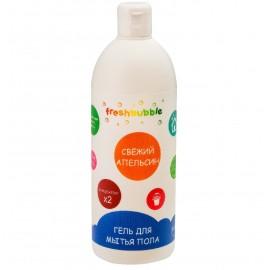 """Гель для мытья пола """"Свежий апельсин"""" Freshbubble, 500 мл, , 9.70 руб., Гель для мытья пола """"Свежий апельсин"""" Freshbubble, Freshbubble - экологические средства для дома, Бытовая """"НеХимия"""""""