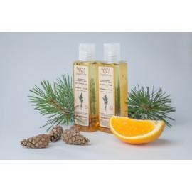 Гидрофильное масло для нормальной кожи «Апельсин и сосна», 110мл, , 11.60 руб., Гидрофильное масло для нормальной кожи «Апельсин и сосна», 110мл, OZ! OrganicZone — натуральная косметика, Снятие макияжа
