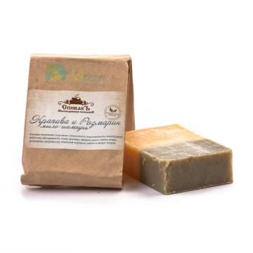 Мыло-шампунь «Крапива и Розмарин», 100 г