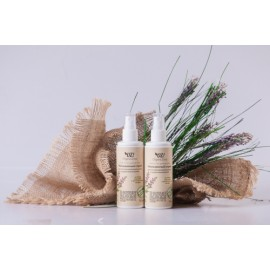 Несмываемый спрей-кондиционер для стимулирования роста и укрепления волос, 110 мл, , 15.30 руб., Несмываемый спрей-кондиционер для стимулирования роста, OZ! OrganicZone — натуральная косметика, Шампуни и бальзамы для волос